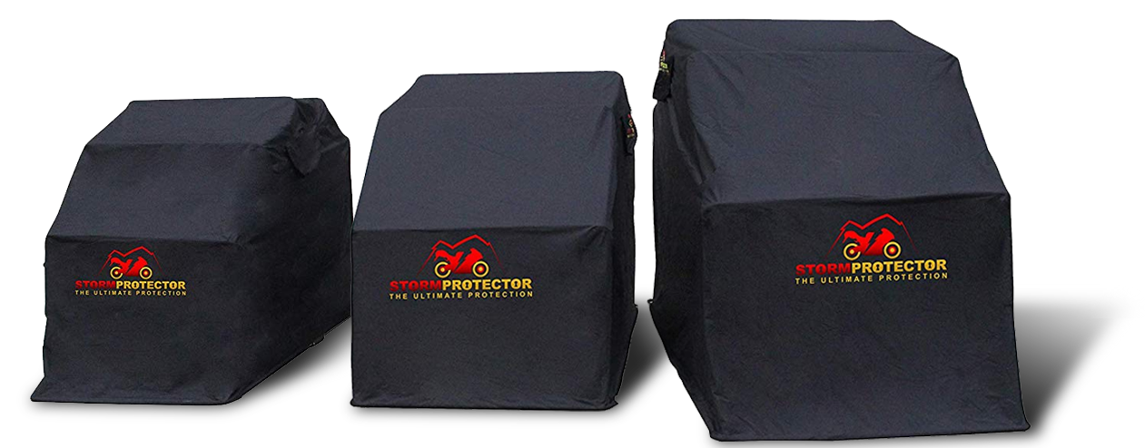 storm protector motorcycle shelters